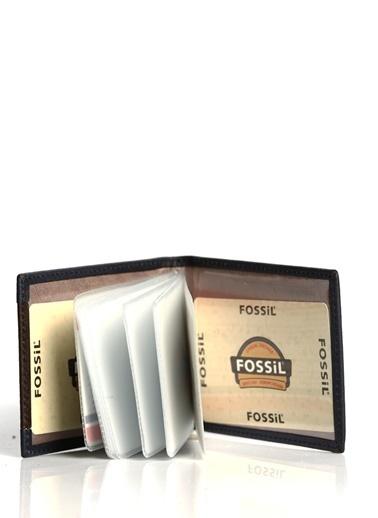 Fossil Hakiki Deri Kartlık Lacivert